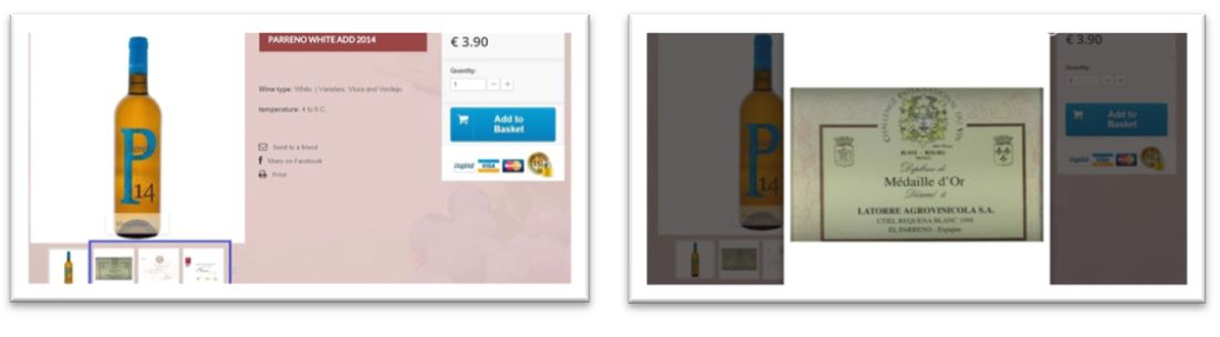 Tienda eCommerce product description