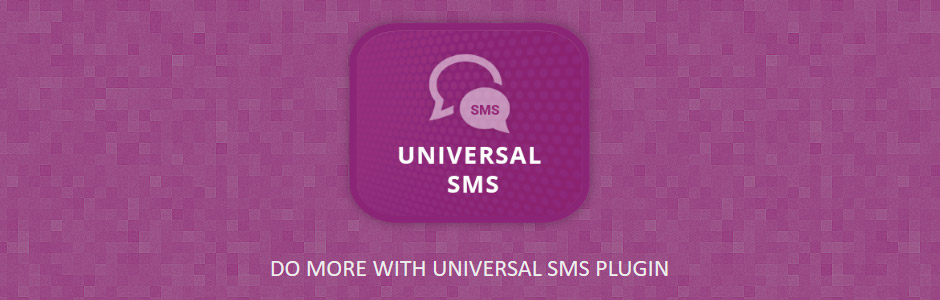 nopCommerce SMS Plugin - Universal SMS - Banner