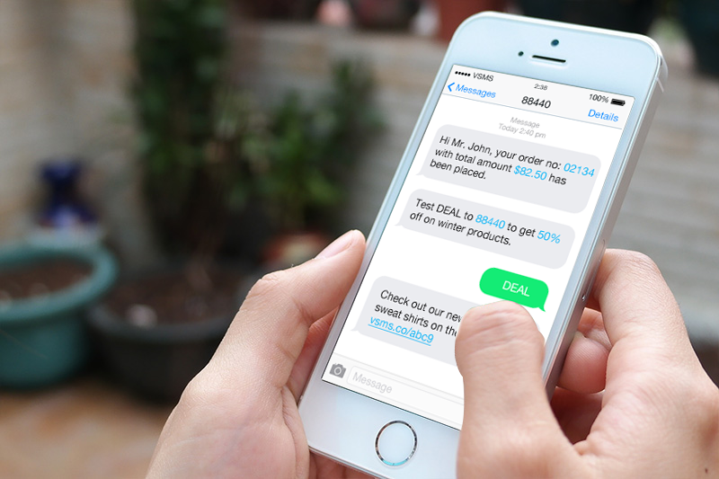 ecommerce SMS plugin allows future marketing opportunities