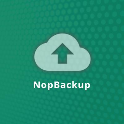 NopBackup Plugin - nopCommerce Backup Plugin