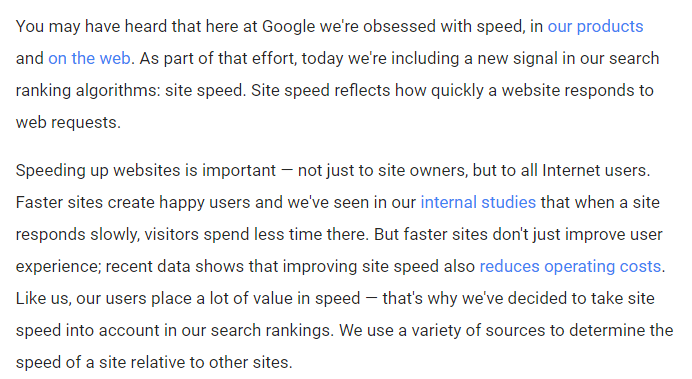 Importance of Page Speed in Ecommerce Conversion Rate - nopaccelerate.com