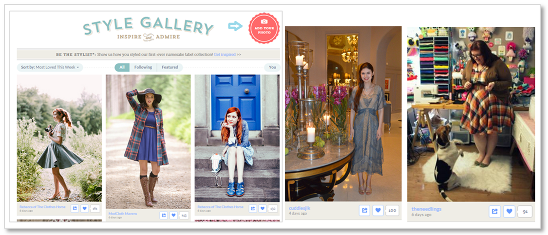 modcloth social proof ecommerce conversion