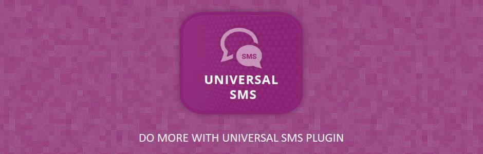 nopCommerce SMS Plugin - Universal SMS - Banner