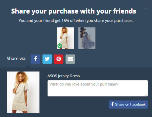 pro of Facebook Social Login on ecommerce Website sharing