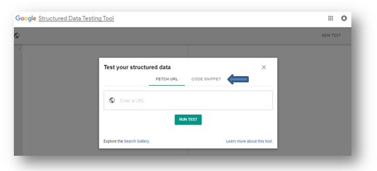 How to use Schema Markup on your ecommerce website - google Structured Data Testing Tool 1